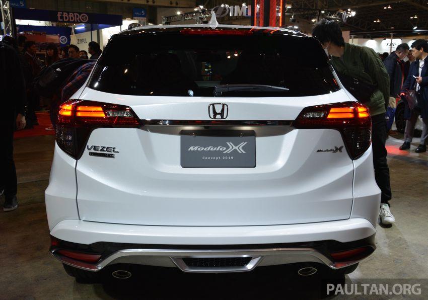 TAS2019: Honda HR-V Modulo X Concept didedahkan Image #914141