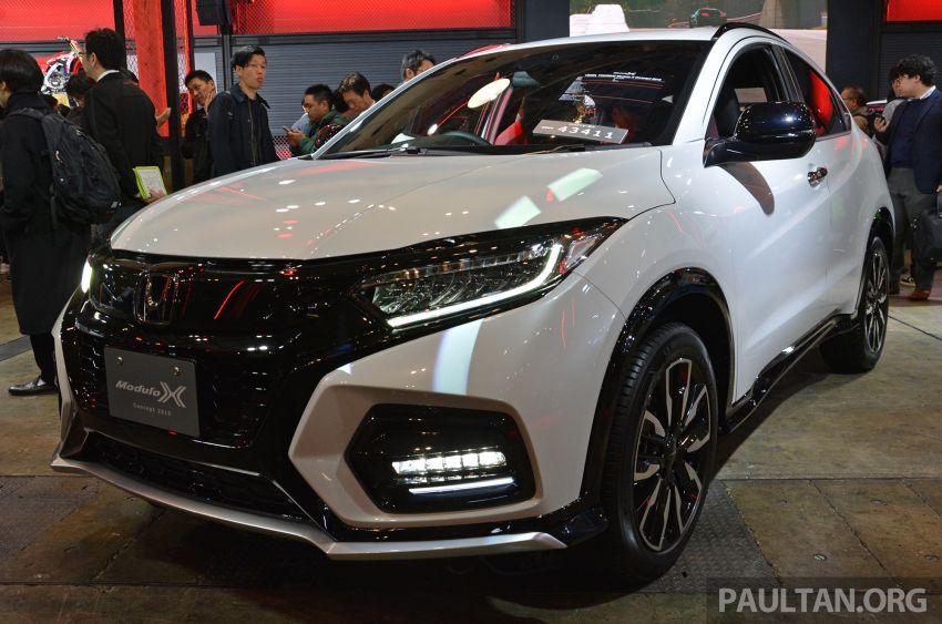TAS2019: Honda HR-V Modulo X Concept didedahkan Image #914142