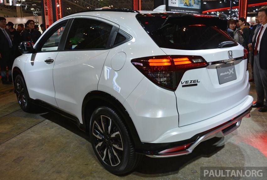 TAS2019: Honda HR-V Modulo X Concept didedahkan Image #914143