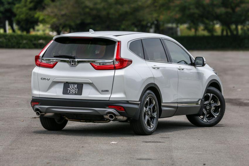 Driven Web Series 2019: New Proton SUV against rivals –  Proton X70 vs Honda CR-V vs Subaru XV Image #915766