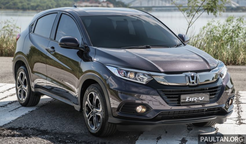 Honda HR-V facelift launched in Malaysia – four variants, including Hybrid, from RM109k to RM125k Image #912062