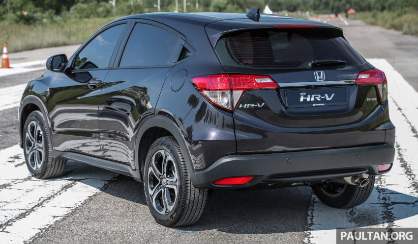 Honda HR-V facelift launched in Malaysia – four variants, including Hybrid, from RM109k to RM125k Image #912064