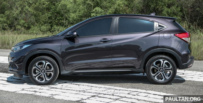 Honda HR-V facelift launched in Malaysia – four variants, including Hybrid, from RM109k to RM125k Image #912068