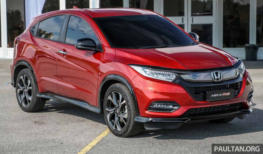 Honda HR-V facelift launched in Malaysia – four variants, including Hybrid, from RM109k to RM125k Image #912125