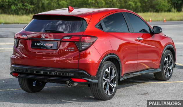 Honda Hr V Facelift Launched In Malaysia Four Variants Including Hybrid From Rm109k To Rm125k Paultan Org