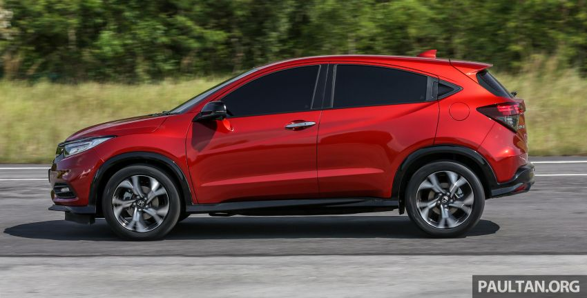 Honda HR-V facelift launched in Malaysia – four variants, including Hybrid, from RM109k to RM125k Image #912168