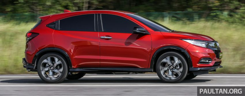 Honda HR-V facelift launched in Malaysia – four variants, including Hybrid, from RM109k to RM125k Image #912170