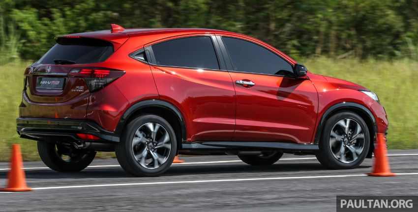 Honda HR-V facelift launched in Malaysia – four variants, including Hybrid, from RM109k to RM125k Image #912171