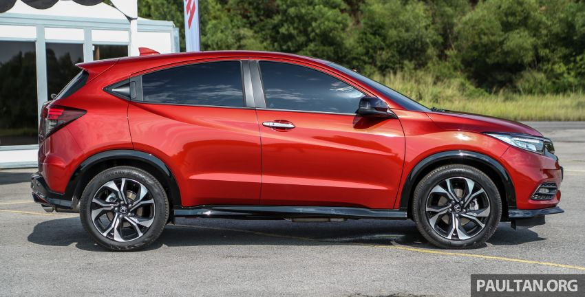 Honda HR-V facelift launched in Malaysia – four variants, including Hybrid, from RM109k to RM125k Image #912131