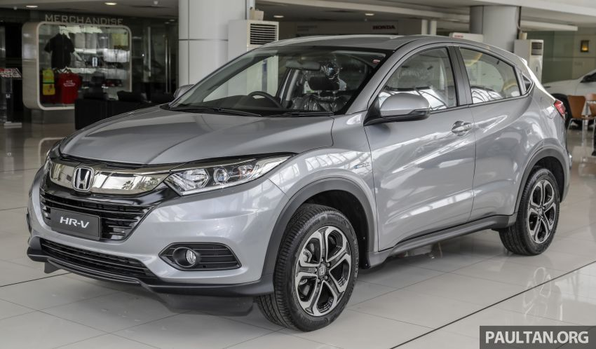 Honda HR-V facelift launched in Malaysia – four variants, including Hybrid, from RM109k to RM125k Image #917925