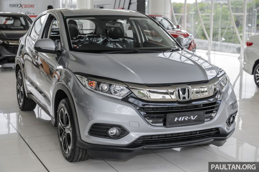 Honda HR-V facelift launched in Malaysia – four variants, including Hybrid, from RM109k to RM125k Image #917926
