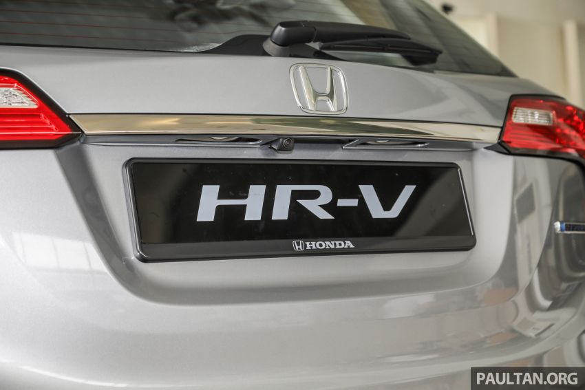 Honda HR-V facelift launched in Malaysia – four variants, including Hybrid, from RM109k to RM125k Image #917946