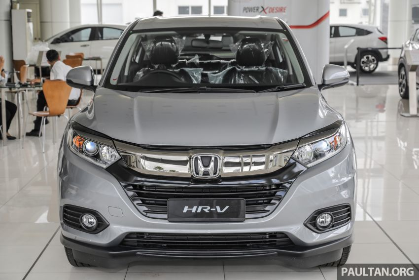 Honda HR-V facelift launched in Malaysia – four variants, including Hybrid, from RM109k to RM125k Image #917929