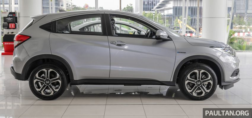 Honda HR-V facelift launched in Malaysia – four variants, including Hybrid, from RM109k to RM125k Image #917931