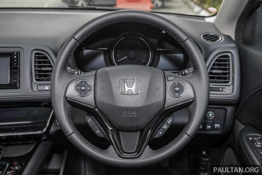 Honda HR-V facelift launched in Malaysia – four variants, including Hybrid, from RM109k to RM125k Image #917956