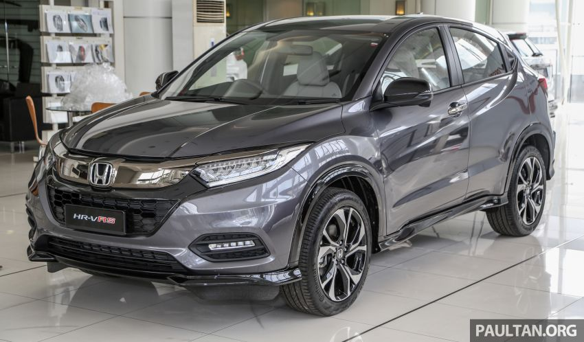 Honda HR-V facelift launched in Malaysia – four variants, including Hybrid, from RM109k to RM125k Image #918004