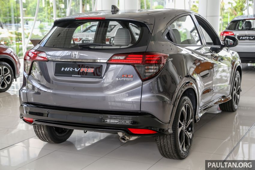 Honda HR-V facelift launched in Malaysia – four variants, including Hybrid, from RM109k to RM125k Image #918007