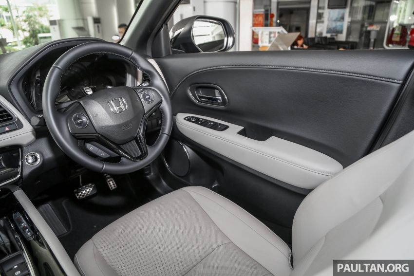 Honda HR-V facelift launched in Malaysia – four variants, including Hybrid, from RM109k to RM125k Image #918051