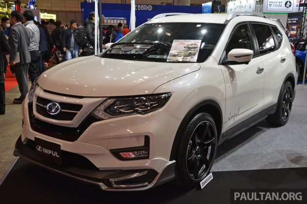 tas 2019 nissan x trail impul nampak lebih sporty. Black Bedroom Furniture Sets. Home Design Ideas
