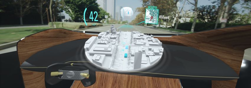 Nissan to showcase Invisible-to-Visible tech at CES 2019 – see through buildings, weather projection Image #907042