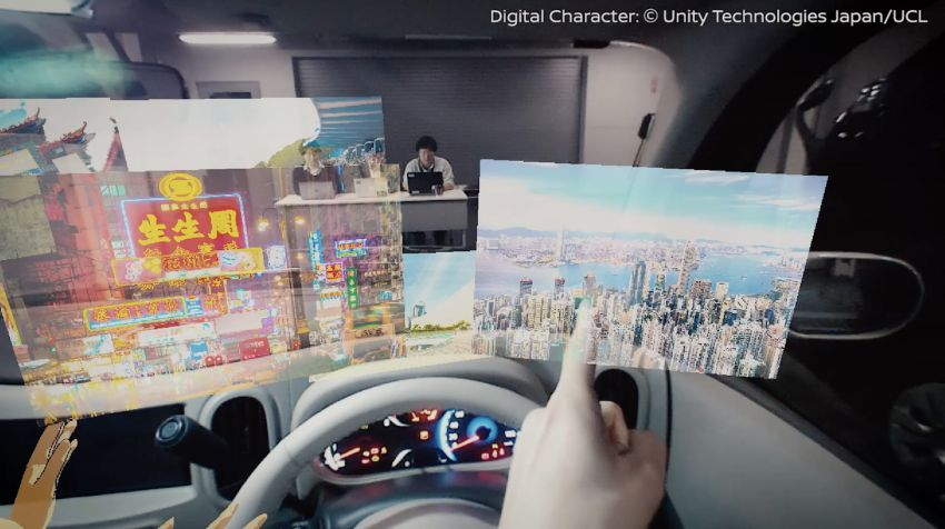 Nissan to showcase Invisible-to-Visible tech at CES 2019 – see through buildings, weather projection Image #907048