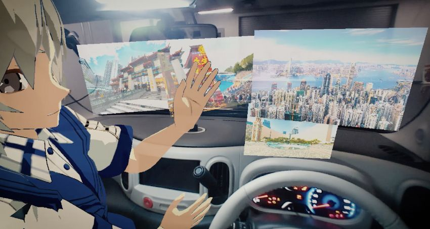 Nissan to showcase Invisible-to-Visible tech at CES 2019 – see through buildings, weather projection Image #907049