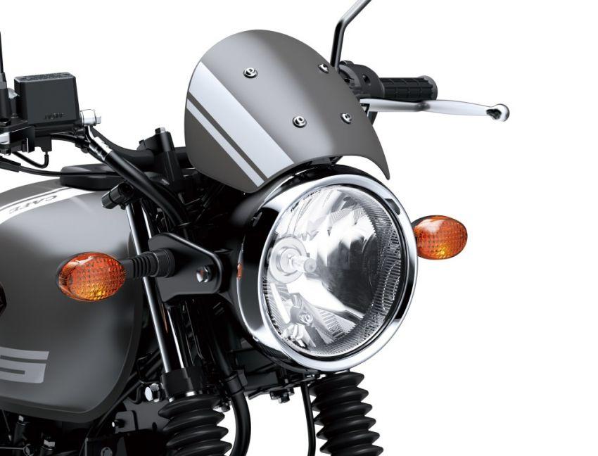 Kawasaki W175 Cafe diperkenal di Indonesia – RM9.5k Image #910887