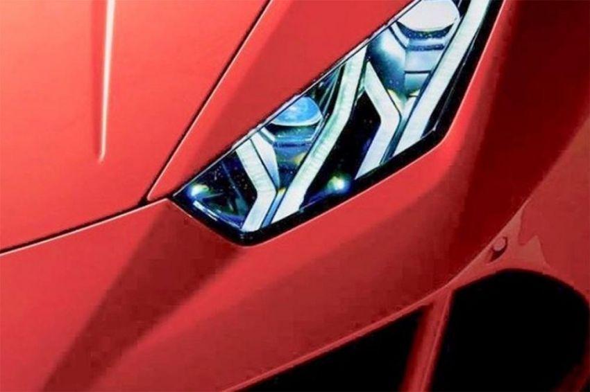 Lamborghini Huracan facelift – teaser pertama muncul Image #906993