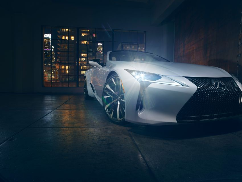 Lexus LC Convertible concept revealed, Detroit debut Image #909505