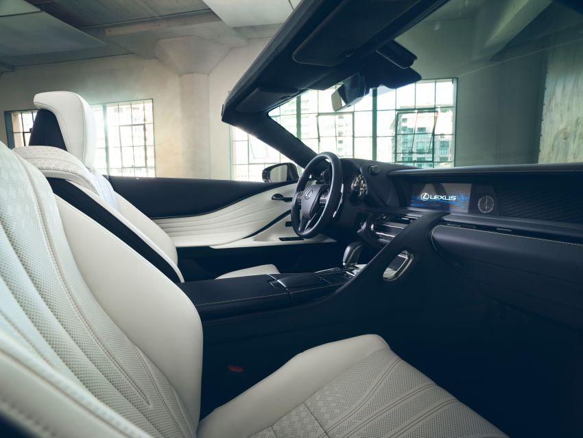 Lexus LC Convertible concept revealed, Detroit debut Image #909486