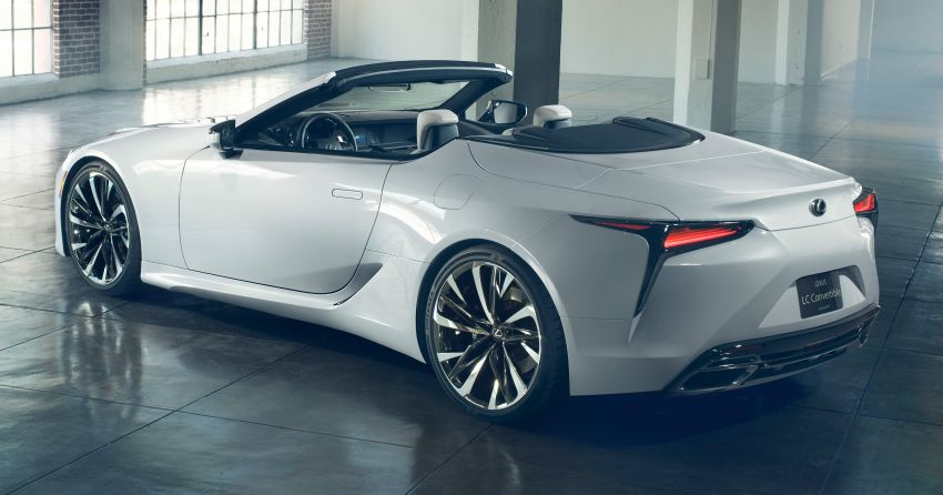 Lexus LC Convertible concept revealed, Detroit debut Image #909497