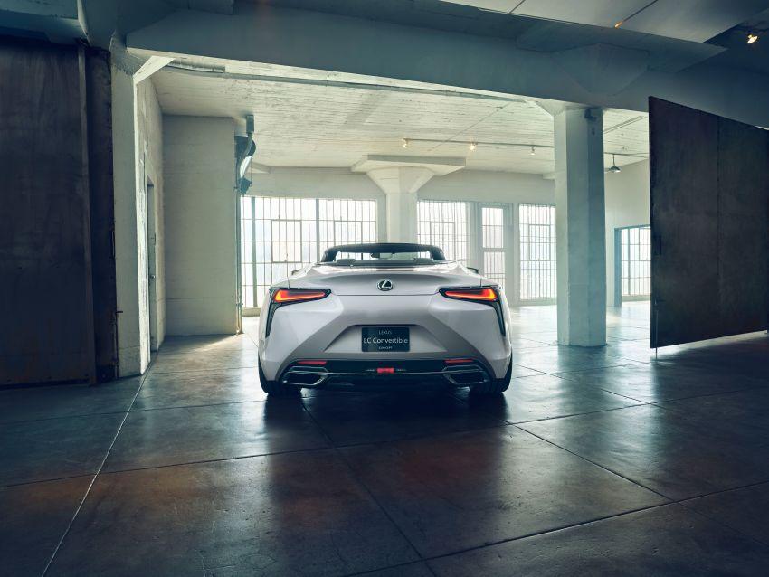 Lexus LC Convertible concept revealed, Detroit debut Image #909504