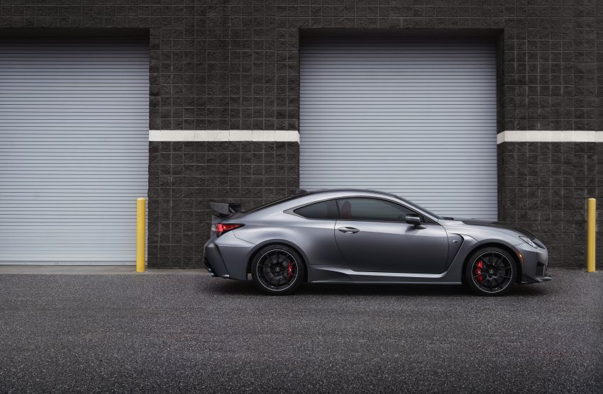 Lexus RC F facelift revealed with new Track Edition Image #917743