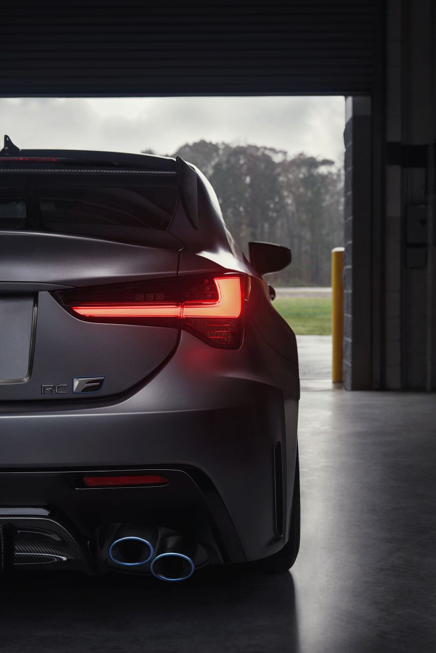 Lexus RC F facelift revealed with new Track Edition Image #917761