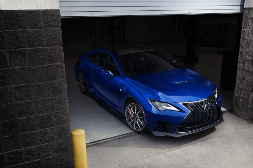 Lexus RC F facelift revealed with new Track Edition Image #917763