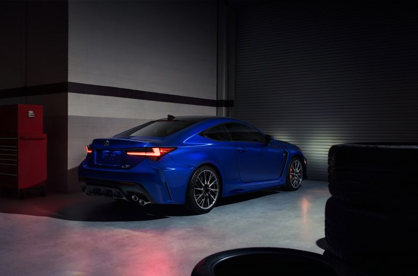 Lexus RC F facelift revealed with new Track Edition Image #917781