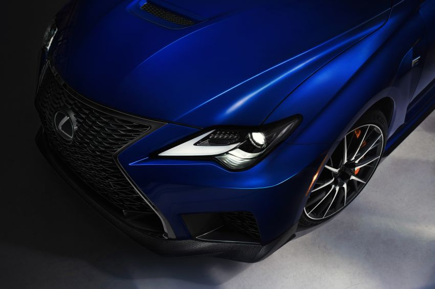 Lexus RC F facelift revealed with new Track Edition Image #917782