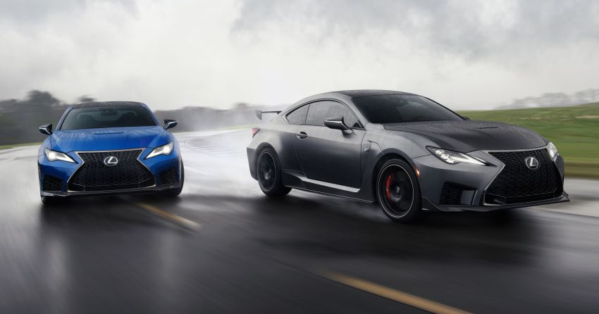 Lexus RC F facelift revealed with new Track Edition Image #917785