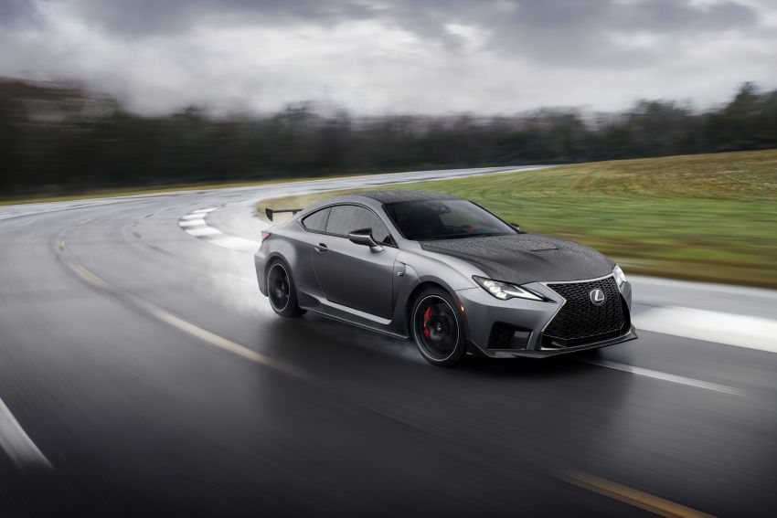 Lexus RC F facelift revealed with new Track Edition Image #917744