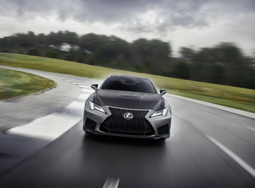Lexus RC F facelift revealed with new Track Edition Image #917746