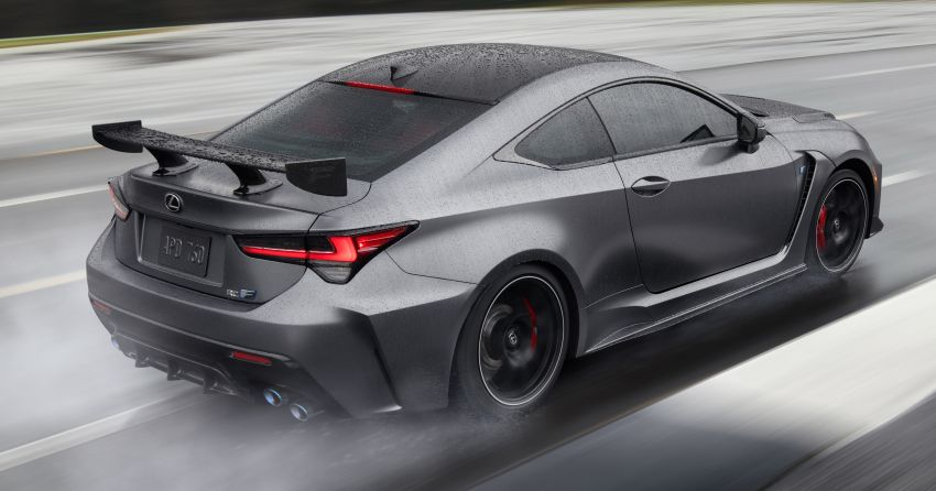 Lexus RC F facelift revealed with new Track Edition Image #917753
