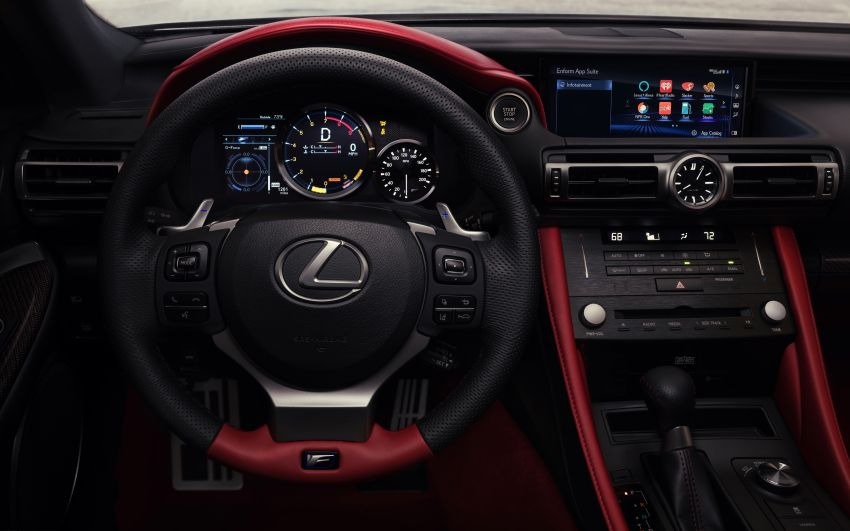 Lexus RC F facelift revealed with new Track Edition Image #917759