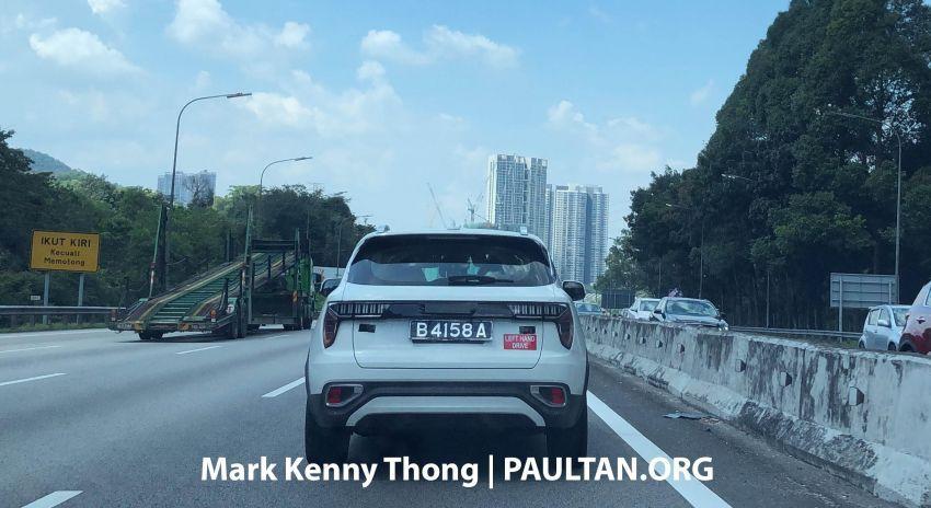 SPYSHOT: Lynk & Co 01 LHD dilihat di Malaysia Image #910625