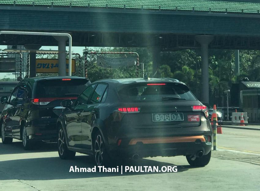 SPYSHOTS: Lynk & Co 01, 02 and 03 seen in Malaysia! Image #912891