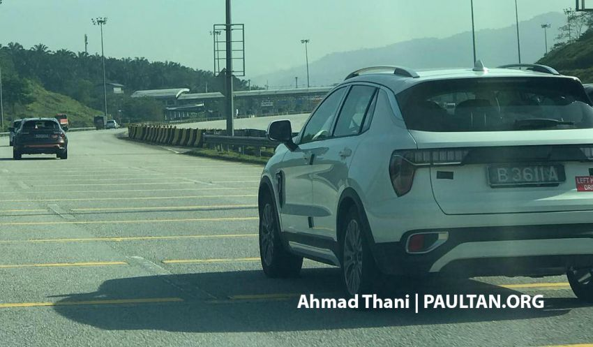 SPYSHOTS: Lynk & Co 01, 02 and 03 seen in Malaysia! Image #912892
