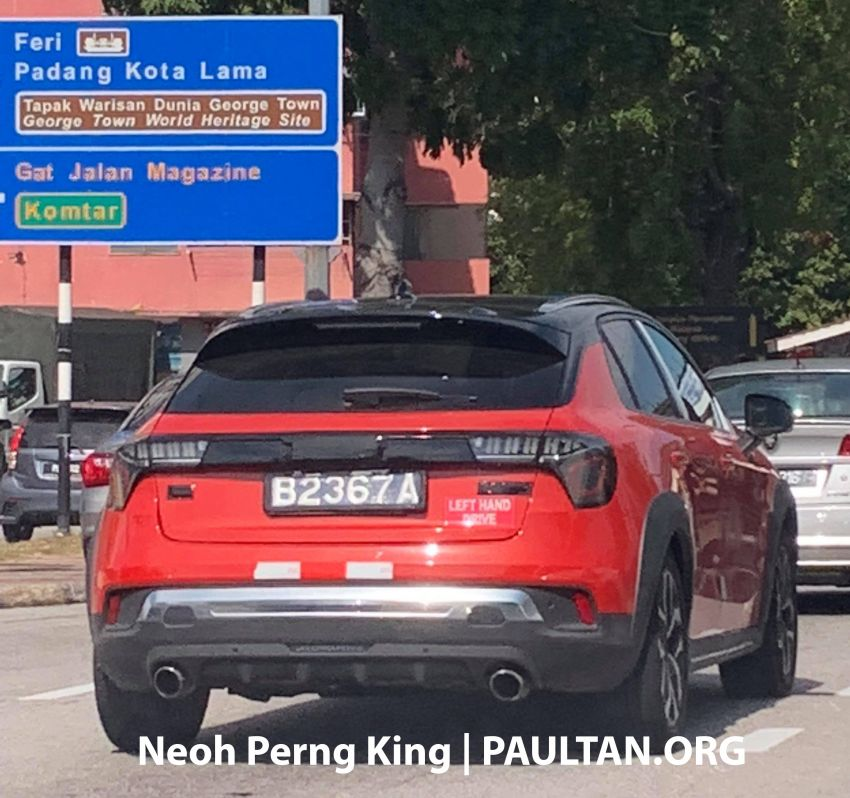 SPYSHOTS: Lynk & Co 01, 02 and 03 seen in Malaysia! Image #912893