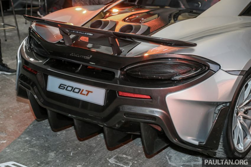 McLaren 600LT previewed in Malaysia – 600 PS 3.8L biturbo V8, 0-100 km/h in 2.9 secs, RM998k before tax Image #916145