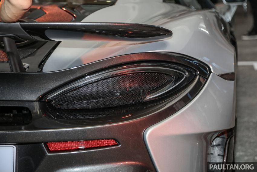 McLaren 600LT previewed in Malaysia – 600 PS 3.8L biturbo V8, 0-100 km/h in 2.9 secs, RM998k before tax Image #916146