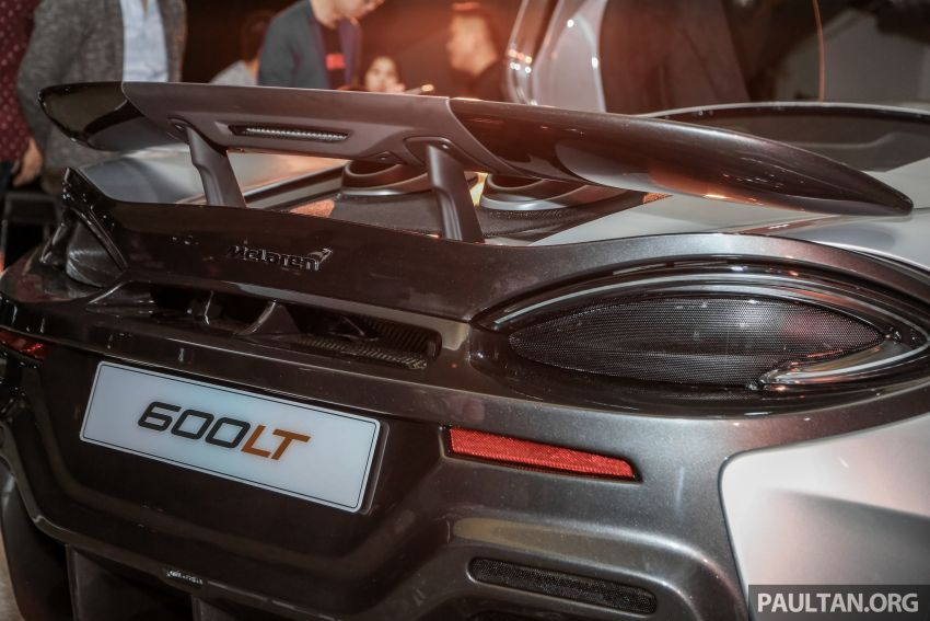 McLaren 600LT previewed in Malaysia – 600 PS 3.8L biturbo V8, 0-100 km/h in 2.9 secs, RM998k before tax Image #916152