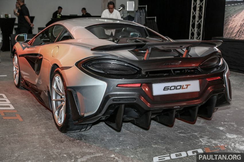 McLaren 600LT previewed in Malaysia – 600 PS 3.8L biturbo V8, 0-100 km/h in 2.9 secs, RM998k before tax Image #916110